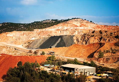 The Konkola Copper Mine. The country is currently ranked as the world's 7th largest copper producer