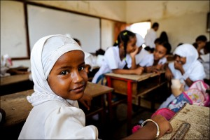 Somali schoolchildren: their rights are guaranteed