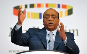 Mo Ibrahim: his  Ibrahim Index of African Governance, the continent's overall governance score has not budged since 2008.