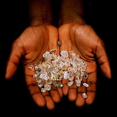 The government wants a bigger cut of the country's diamonds