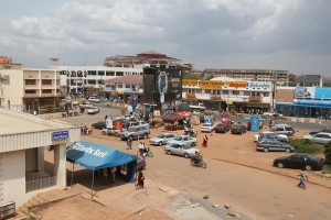 Mbarara is a growing industrial town in Uganda