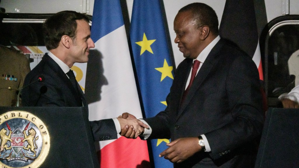 Macron In East Africa France Seals Business Deals Worth 2 26bn In Kenya Africa Briefing